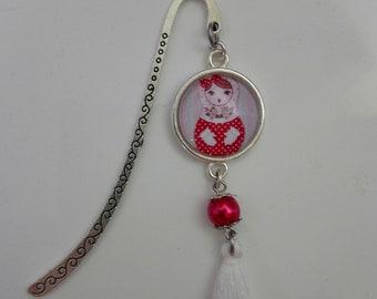 Russian doll bookmark