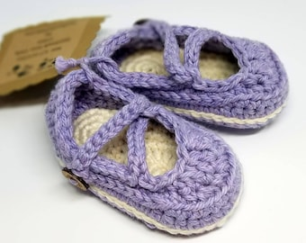 Baby Booties, Baumwolle Mary Janes, Baby Hausschuhe / / sofort lieferbar / / 3 Monate