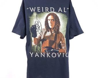 Weird Al Yankovic T-shirt 80s Pop Music Vintage Style