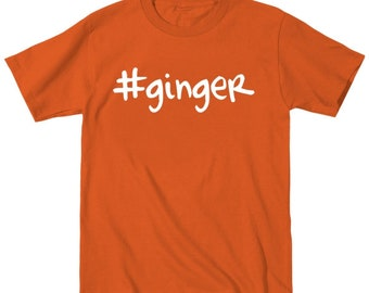 Hashtag  Ginger Irish St Particks Day Baby Outfit Toddler T-Shirt DT0262