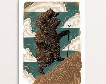 The Great Bear - Signed Print