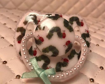 Hungry Caterpillar  magnetic reborn doll dummy pacifier