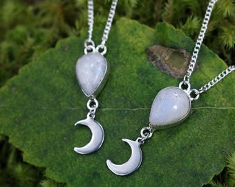 moon energy necklaces