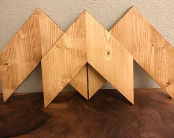 Rustic Chevron Arrows (Set of 3)