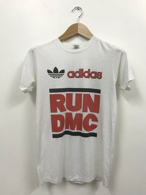 adidas run dmc t shirt vintage