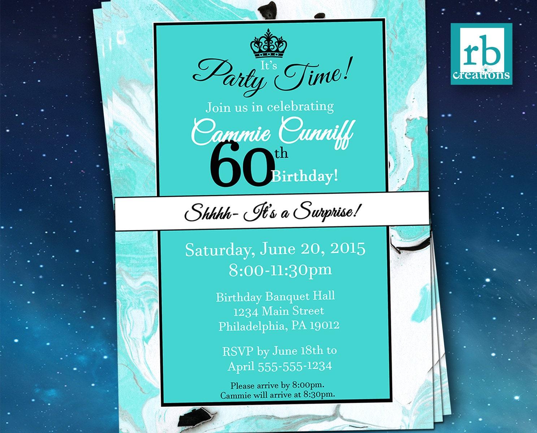Surprise Party Invitations, Surprise Birthday Invitation, Surprise ...