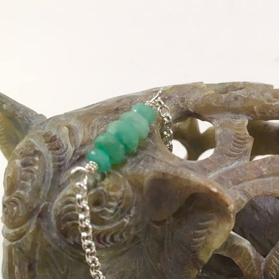 S - 594 915 Emerald bracelet