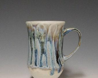 Handmade wheel thrown ceramic mug #1135