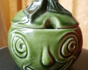 Sylvac Apple Sauce Face pot