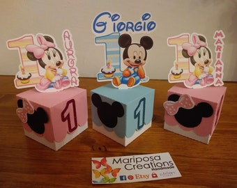 First Birthday Placeholder Box