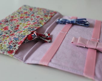 Pouch clips and barrettes customizable liberty