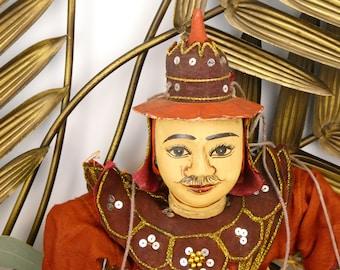 Marionette Burmese - soldier