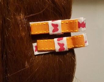 Sunshine 'n' Butterflies Hair Bows