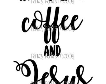 Running on Coffee and Jesus SVG