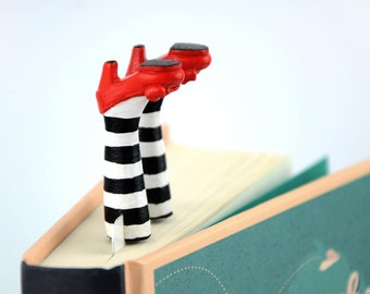 Bookmark Wicked Witch, bookmark gift, handmade bookmark, personalized bookmark, bookmark for books, bookmarks, cute bookmarks