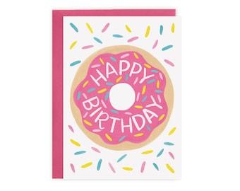 Donut - Birthday Card