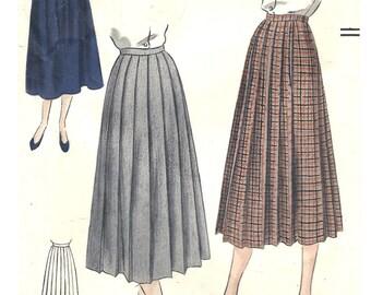 PWAP-0176 Vintage Pattern Vogue 6951 W28