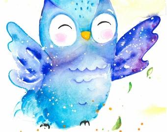 Little Baby Owl