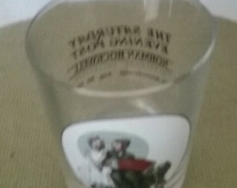 Norman Rockwell glass