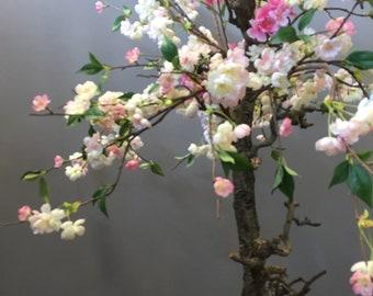 Pink Artificial blossom tree 100cm