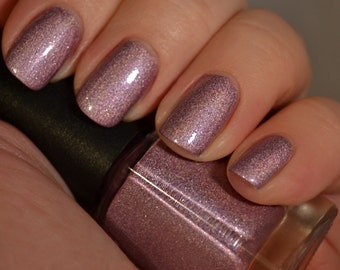 Felicity's Flame (Discontinuing) - Pink Purple Holographic Nail Polish
