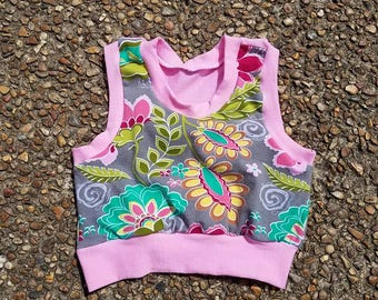 Infant Toddler Crop Top PICK YOUR FABRIC