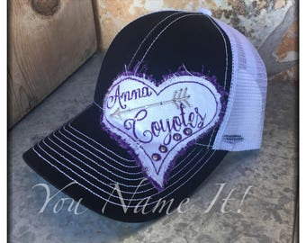 Heart & Arrow School Baseball Cap