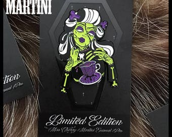 Deadly Sweet LIMITED EDITION Enamel Pin By Miss Cherry Martini