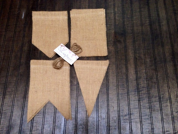 Items similar to diy 6x9 burlap banner kit w jute twine diy rustic items similar to diy 6x9 burlap banner kit w jute twine diy rustic decoration banner for birthday wedding holiday party do it yourself solutioingenieria Choice Image