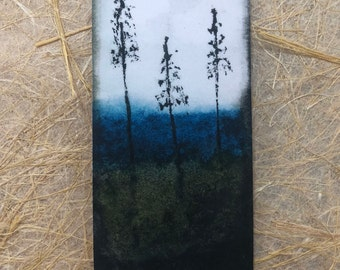 ttams - bookmark - trees and water - various