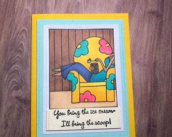 Friend or Get Well Greeting Card
