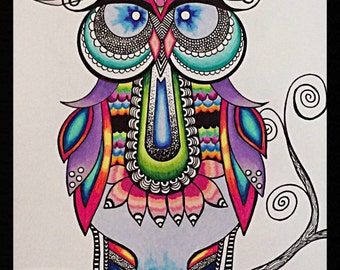 Tangled Owl