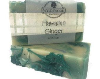 Hawaiian Ginger Goat Milk Soap