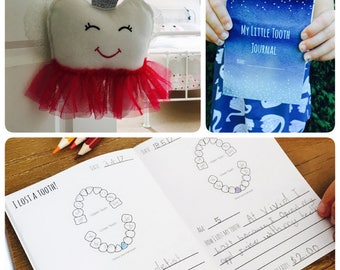 Extra journals with purchase of tooth fairy pillow