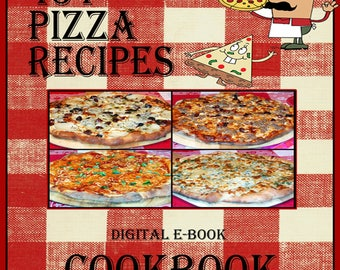 434 Pizza Recipes E-Book Cookbook Digital Download