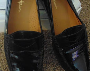 Cole Haan AIR ERIKA BLK Patent Leather Loafers