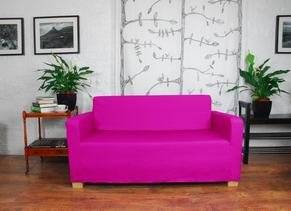 Slip cover to fit the ikea Ullvi sofa bed 20 colours available