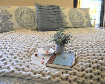 Super Chunky Knit Throw