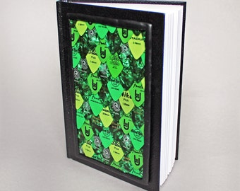 Guitar Pick Journal - Green Scales