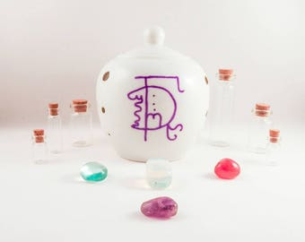 "Wish Jar with ""My Dreams Will Come True"" Sigils. Witchcraft, Pagan, Wiccan."