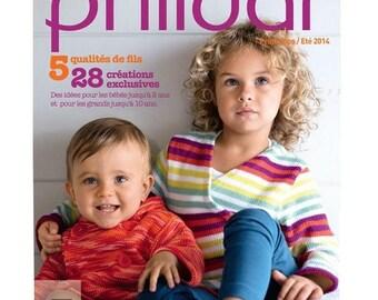 Phildar catalog models spring/summer kids and babies No. 105
