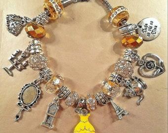Beauty and the Beast Charm Bracelet!