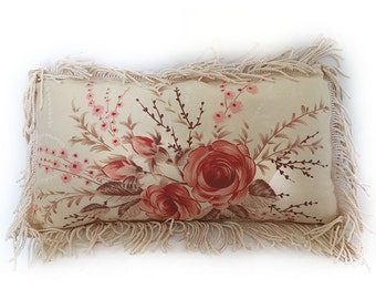 Hand Made Vintage Chic Cushion