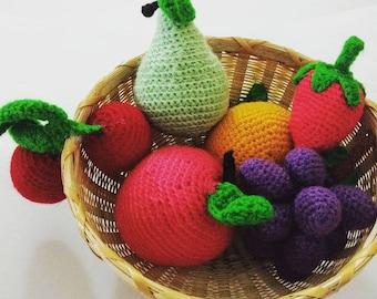 Amigurumi fruit set - 10