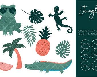 Jungle SVG Cut File