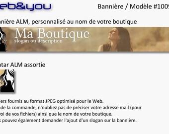Custom banner, avatar and shop 'Women'