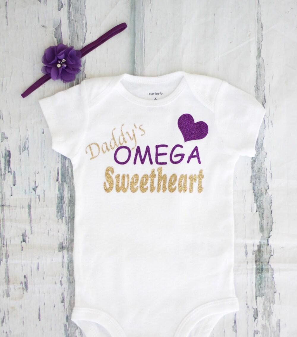 Daddys omega sweetheart omega psi phi baby girl onesie zoom biocorpaavc Gallery