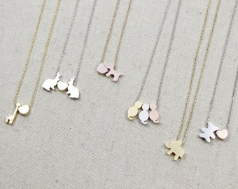 Animal necklaces etsy more colors animal necklace aloadofball Image collections