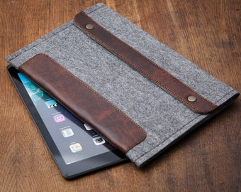 Grey felt Kobo Aura H2O Case. Kobo Aura One case. Kobo Aura case. Kobo Aura edition 2 case. Kobo Aura H2O edition 2 case.