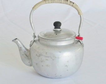 Vintage, Mid Century, Single Serve Teapot with Steeper/Infuser